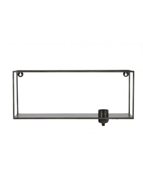Aplique de pared de metal 50x12x20 cm